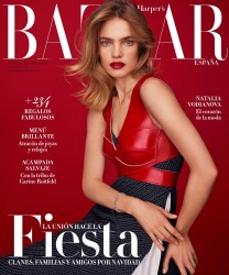 Natalia Vodianova -              Harper's Bazaar Magazine (Spain) December 2016 Thomas Whiteside Photos.
