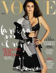 Penelope Cruz -               Vogue Magazine (Spain) December 2016 Mario Testino Photos.
