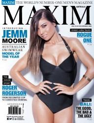 Jemm Moore -   Maxim Magazine Australia (November 2016).