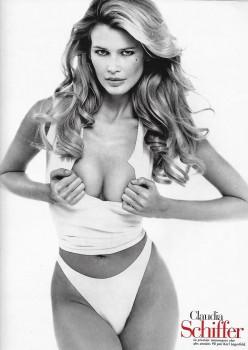 Claudia Schiffer: Sexy B&W Pic- HQ x 1