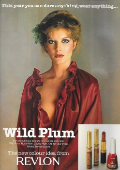Rene Russo: Late 70's Revlon Ad: HQ x 1