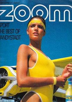 Stephanie Seymour: Yellow One-Piece 80's Shoot: HQ x 2