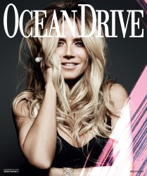 Heidi Klum -                    Ocean Drive Magazine December 2016 Rankin Photos.