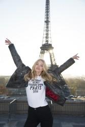 Elsa Hosk - 2016 Victoria's Secret Fashion Show Press Day in Paris 11/29/16