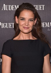 Katie Holmes - Audemars Piguet Art Commission Presents 'Reconstruction of the Universe' by Sun Xun in NYC 11/29/16