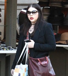 Michelle Trachtenberg - Shopping at The Grove in LA 11/30/16