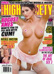 Link to August Ames – High Society Issue 246 2016 USA