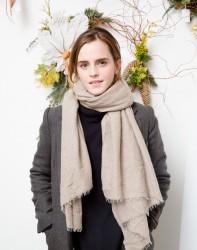Emma Watson - Domino Magazine Holiday event in NYC 12/1/16