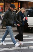 Dakota Fanning - with her boyfriend out in New York December 4, 2016