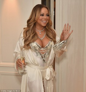 Mariah Carey - M-A-C Cosmetics Beauty Icon Launch at the Baccarat Hotel in New York (12/3/16)