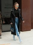 Gigi Hadid - Leaving her apartment in NYC 12/8/16