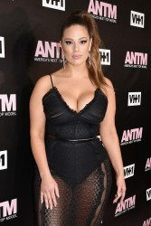 Ashley Graham - VH1 America's Next Top Model premiere party in NYC 12/8/16