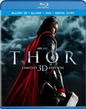 Thor - Limited Edition 3D (2011) Full Blu-Ray 3D 43Gb AVC\MVC ITA GER ENG DD 5.1 ENG DTS-HD MA 7.1